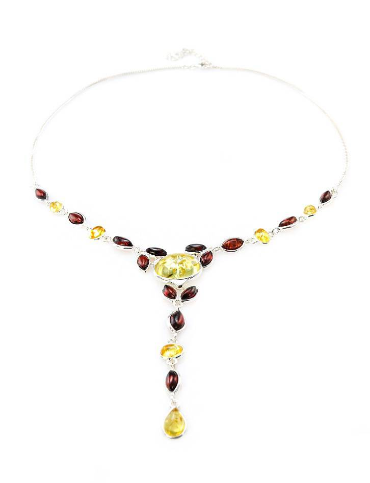 Wonderful Multicolor Amber Necklace, image , picture 5