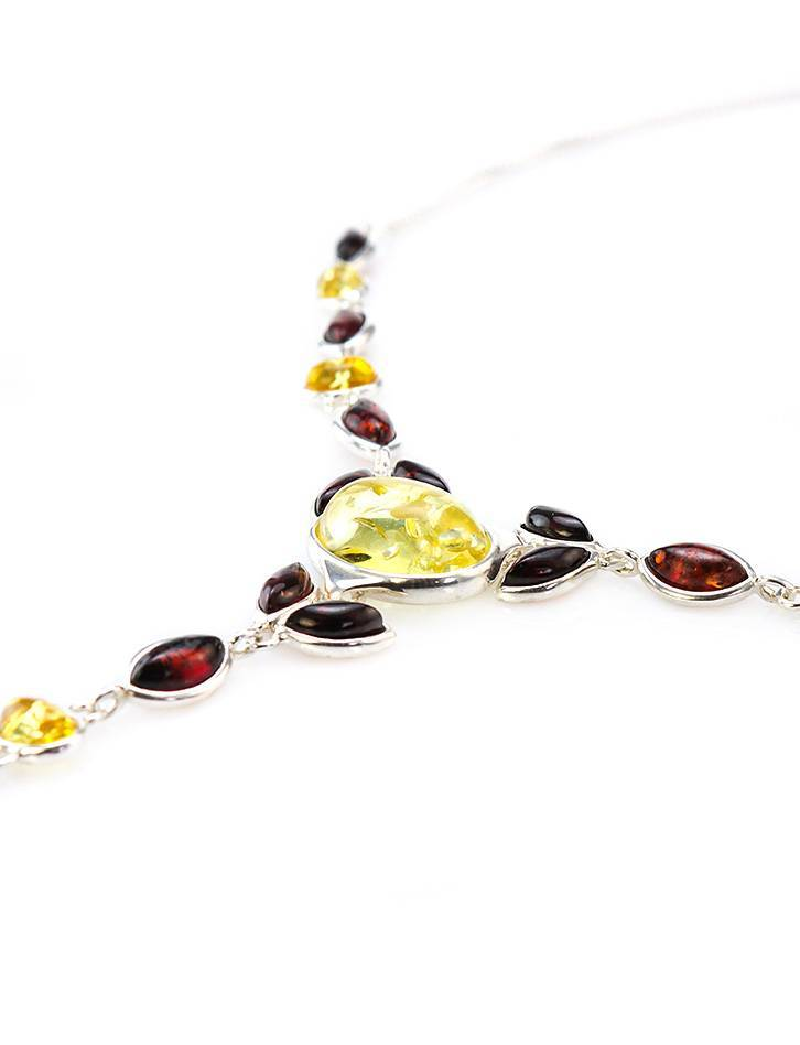 Wonderful Multicolor Amber Necklace, image , picture 3