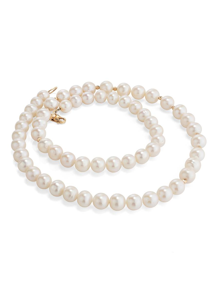 Cultured Pearl Necklace The Serene, image , picture 2