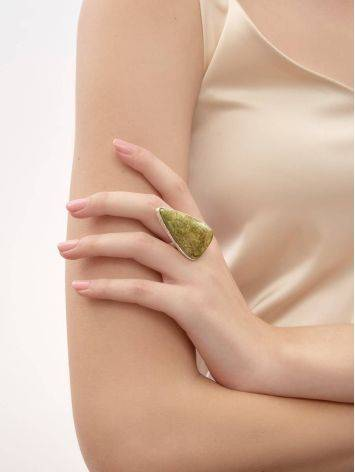 Triangle Statement Cocktail Ring The Bella Terra, Ring Size: 8.5 / 18.5, image , picture 5