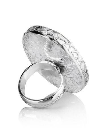 Stunning Speckled Stone Cocktail Ring The Bella Terra, Ring Size: 8 / 18, image , picture 4