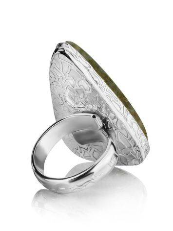 Triangle Statement Cocktail Ring The Bella Terra, Ring Size: 8.5 / 18.5, image , picture 4