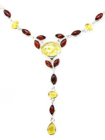 Wonderful Multicolor Amber Necklace, image , picture 4