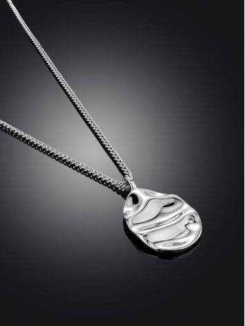 Boho Chic Silver Necklace The Liquid, image , picture 2