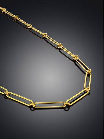 Gold Plated Silver Chain Necklace The ICONIC, image , picture 2