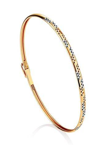 Trendy Golden Bangle Bracelet, image