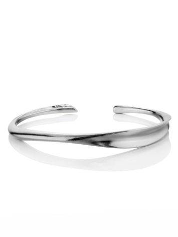 Sleek Silver Cuff Bracelet The ICONIC, image , picture 3
