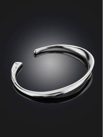 Sleek Silver Cuff Bracelet The ICONIC, image , picture 2