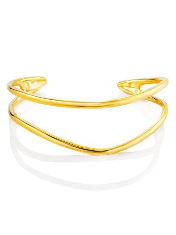 Chic Gold Plated Silver Cuff Bracelet The ICONIC, image , picture 4