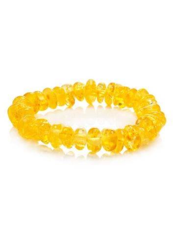 Lemon Amber Bracelet For Kids, image
