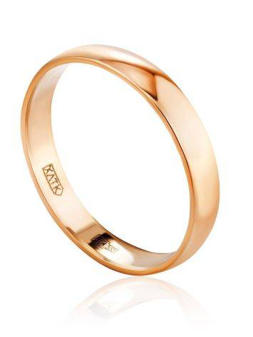 Versatile Golden Band Ring, Ring Size: 6 / 16.5, image