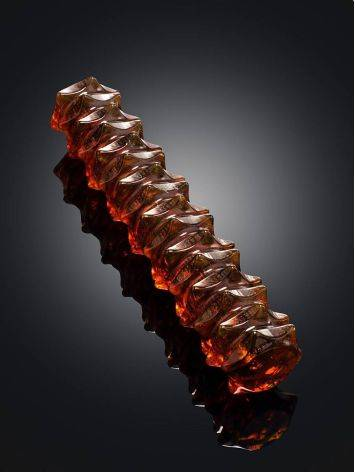 Multifunctional Texturized Amber Massage Stick, image , picture 2