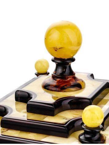 Multicolor Amber Jewelry Box, image , picture 5