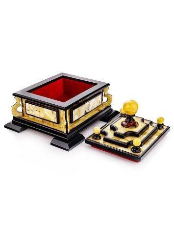 Multicolor Amber Jewelry Box, image , picture 6
