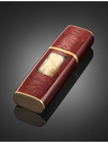 16 Gb Handcrafted Flash Drive With Amber And Padauk Wood The Indonesia, image , picture 2
