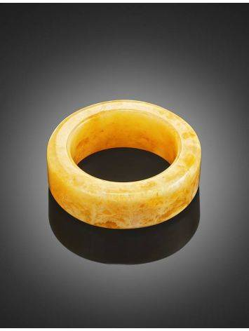 Honey Amber Band Ring The Magma, Ring Size: 8.5 / 18.5, image , picture 2