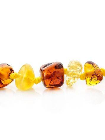 Amber Angel Shaped Pendant Necklace, image , picture 7