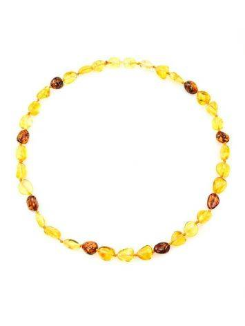 Multicolor Amber Teething Choker Necklace, image , picture 3