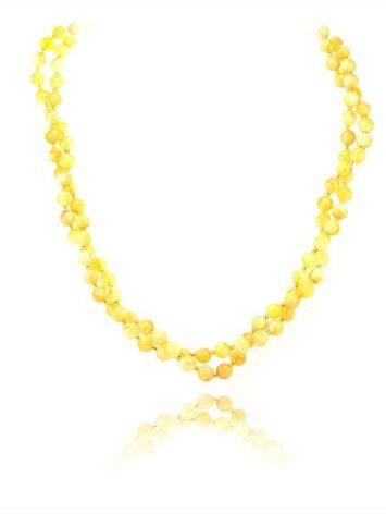 Fabulous Honey Amber Beaded Necklace The Ariadna, image , picture 4