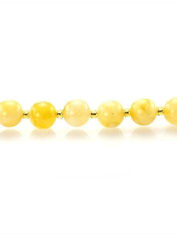 Fabulous Honey Amber Beaded Necklace The Ariadna, image , picture 5