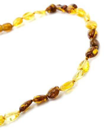 Multicolor Amber Teething Necklace, image , picture 2