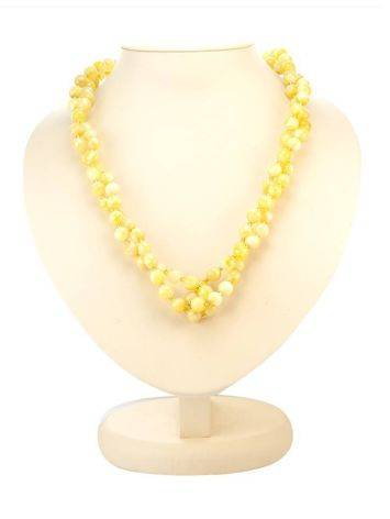 Fabulous Honey Amber Beaded Necklace The Ariadna, image , picture 3