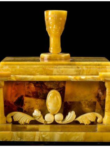 Exclusive Honey Amber Casket, image , picture 5