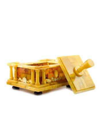 Exclusive Honey Amber Casket, image , picture 3