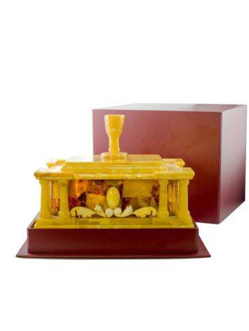 Exclusive Honey Amber Casket, image , picture 6