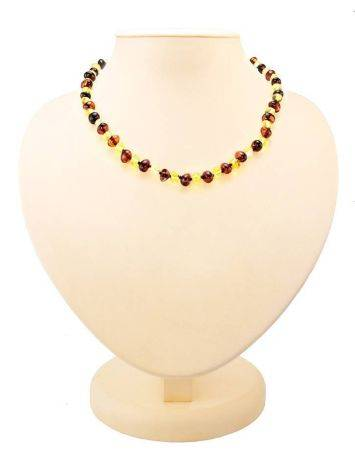Multicolor Amber Beaded Teething Necklace, image , picture 3