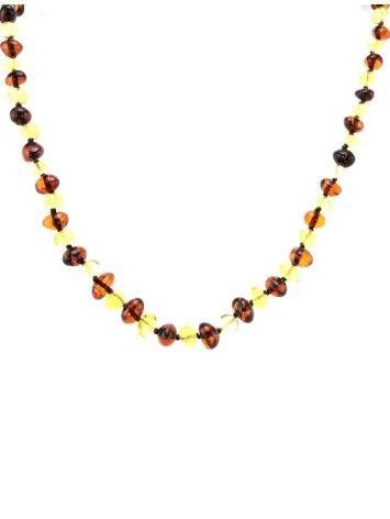 Multicolor Amber Beaded Teething Necklace, image , picture 4