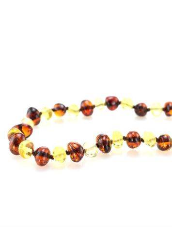Multicolor Amber Beaded Teething Necklace, image , picture 2