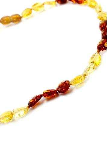 Two-Toned Amber Teething Necklace, image , picture 2