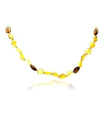 Multicolor Amber Teething Necklace, image , picture 3