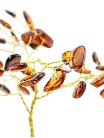 Amber Brass Decorative Money Tree, image , picture 4