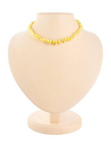 Honey Amber Choker Necklace, image , picture 5