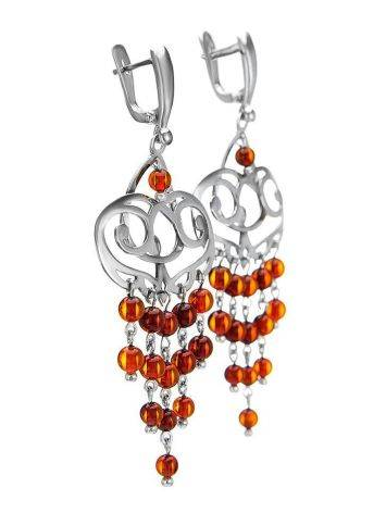 Amber Earrings In Sterling Silver The Siesta, image , picture 4