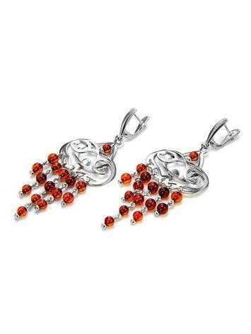 Amber Earrings In Sterling Silver The Siesta, image , picture 5