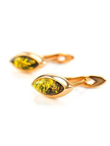 Adorable Golden Earrings With Natural Amber The Andromeda, image , picture 5