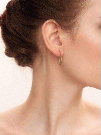 Designer Gold Plated Silver Hoops The ICONIC, image , picture 3