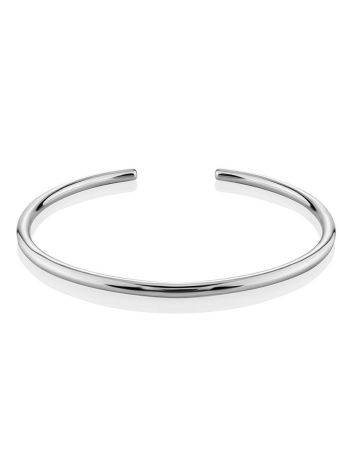 Sleek Silver Cuff Bracelet The ICONIC, image , picture 4