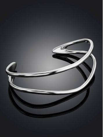 Boho Chic Silver Cuff Bracelet The ICONIC, image , picture 2