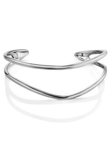 Boho Chic Silver Cuff Bracelet The ICONIC, image , picture 4