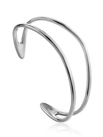 Boho Chic Silver Cuff Bracelet The ICONIC, image