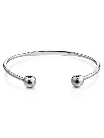 Stylish Retro Classic Sterling Silver Torque Bangle The ICONIC, image , picture 3