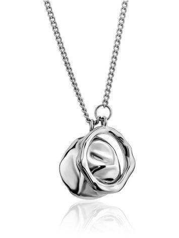 Designer Double Pendant Necklace The Liquid, image
