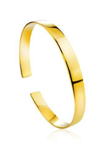 Minimalist Gilded Silver Bangle Bracelet The ICONIC, image