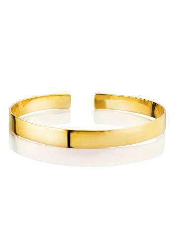 Minimalist Gilded Silver Bangle Bracelet The ICONIC, image , picture 4
