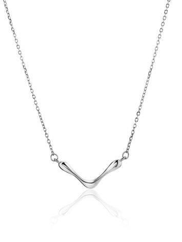 Horizontal Pendant Necklace The Liquid, image