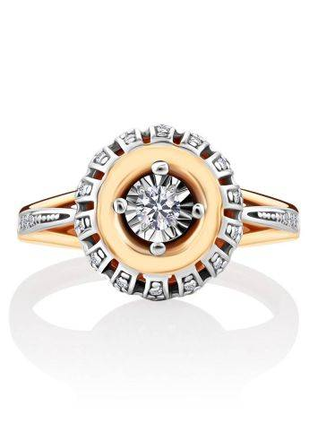 Gorgeous Gold Diamond Ring, Ring Size: 5.5 / 16, image , picture 3